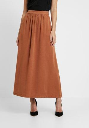 CATHY SKIRT - Maxi sukně - amber