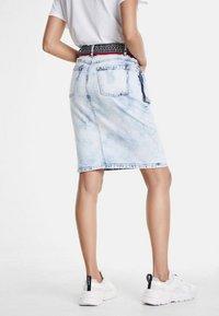 Desigual - RAQUEL - Wrap skirt - blue - 2