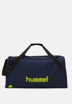 CORE SPORTS BAG - Treningsbag - dark denim/lime punch
