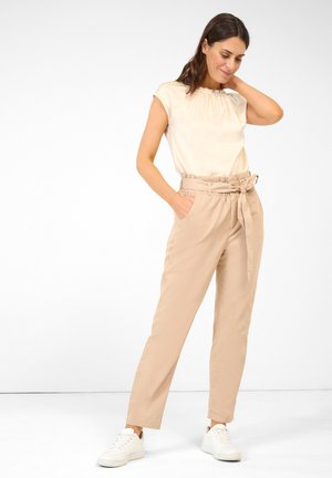 PAPERBAG - Trousers - autumn beige
