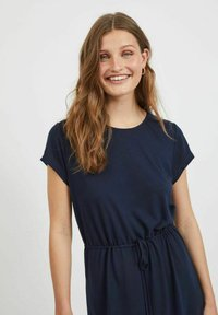 Vila - VIMOONEY STRING - Jersey dress - navy blazer - 4
