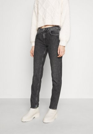 THE KEEPER FINAL ACT - Slim fit jeans - mottled dark grey