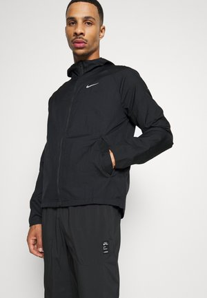 Løperjakke - black