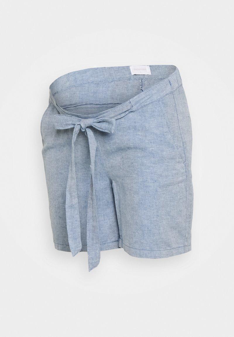 MAMALICIOUS - MLHILO LOOSE SHORTS - Shorts - light blue