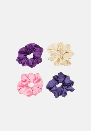 ONLESTER SCRUNCHIE 4 PACK - Hair styling accessory - mazarine blue/mazarine/rose/smoke