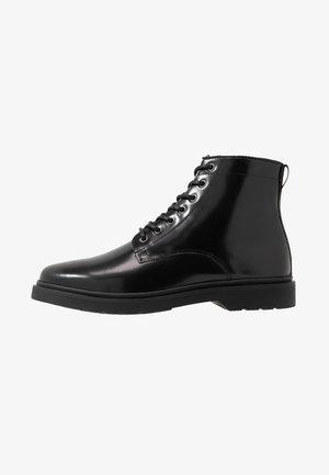 CILLIAN LACE BOOT - Šněrovací kotníkové boty - black