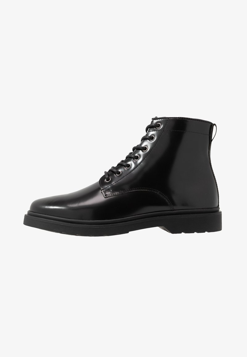 Walk London - CILLIAN LACE BOOT - Botki sznurowane - black