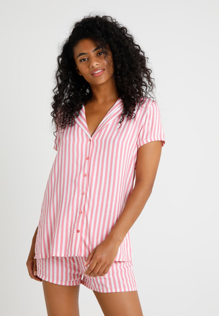 Even&Odd - SET - Pyjama set - white/pink