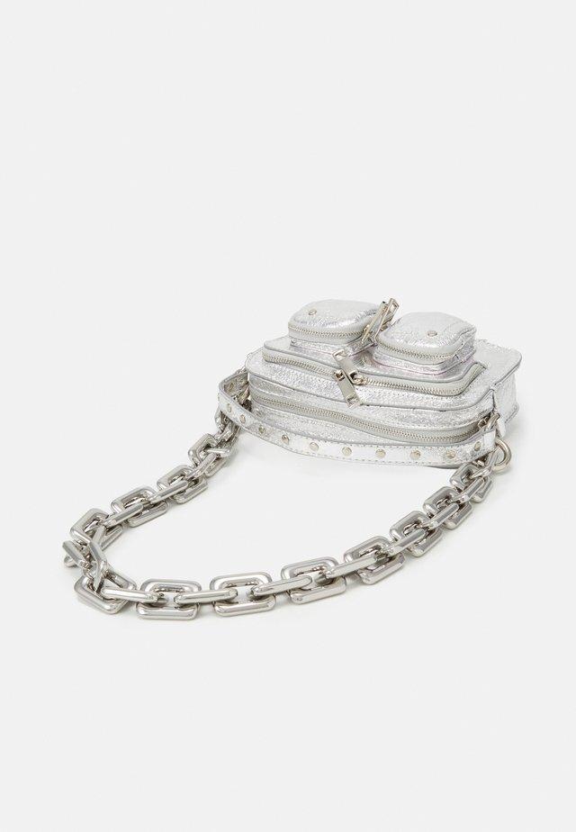 HELENA COOL - Handbag - silver