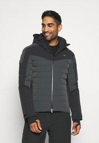 Kjus - MEN SIGHT LINE  - Ski jacket - dark jet green/black - 0