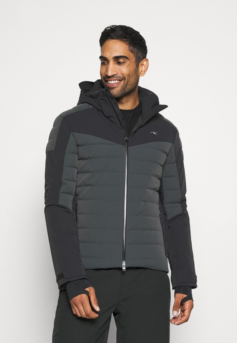 Kjus - MEN SIGHT LINE  - Ski jacket - dark jet green/black