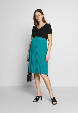 CHARLOTTE - A-line skirt - émeraude