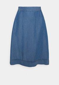 Culture - MINDY SKIRT - A-linjainen hame - light blue wash - 0