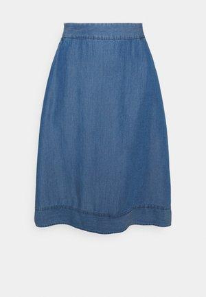 MINDY SKIRT - A-line skirt - light blue wash