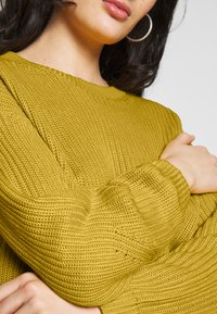 ONLY - ONLARONA - Sweter - misted yellow - 5