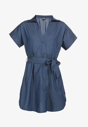 Denim dress - marine