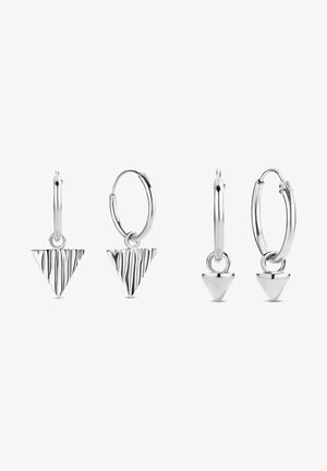 SET - Earrings - silber