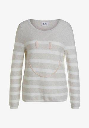 Pullover - white offwhite