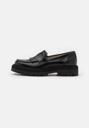 SPIKE LOAFER - Platform heels - black