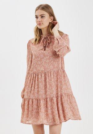 Korte jurk - rose cloud