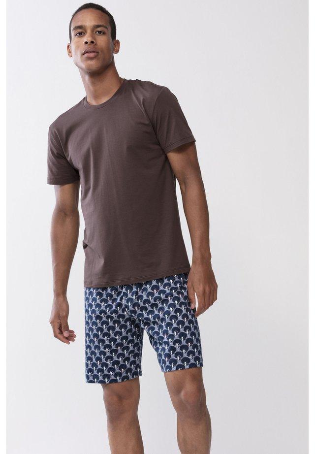 T-SHIRT SERIE DRY COTTON COLOUR - Undershirt - mocca