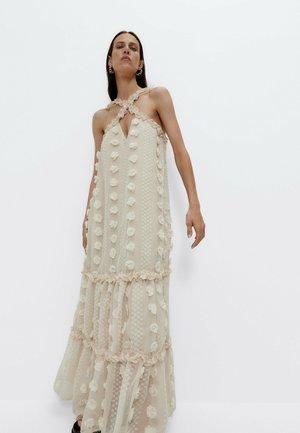 PLUMETIS - Maxi dress - beige