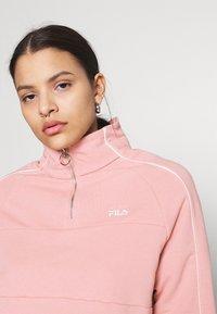 Fila - FANNY HALF ZIP - Sweater - pale mauve - 3