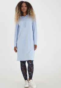 b.young - Jersey dress - brunnera blue melange - 1