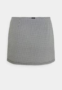 Obey Clothing - CREEPER SKIRT - Mini skirt - black/white - 6
