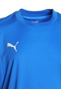 Puma - Týmové oblečení - electric blue lemonade/white - 2
