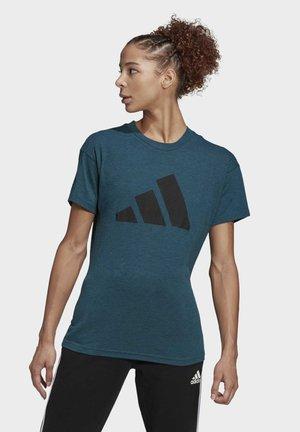 ADIDAS SPORTSWEAR WINNERS T-SHIRT 2.0 - Print T-shirt - teal