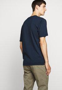 NN07 - DYLAN TEE  - T-shirt imprimé - navy blue - 4