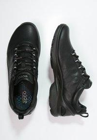 ECCO - BIOM FJUEL - Neutral running shoes - black - 1
