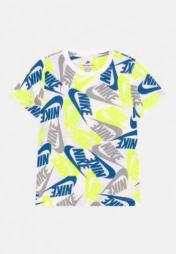FUTURA TOSS - Print T-shirt - white