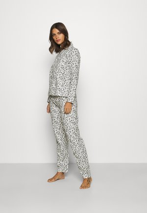 LEOPARD PJ IN A BAG - Pyjamas - ivory mix