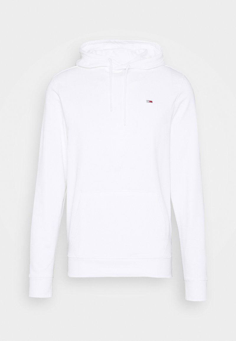Tommy Jeans - FLAG GRAPHIC HOODIE - Sweat à capuche - white