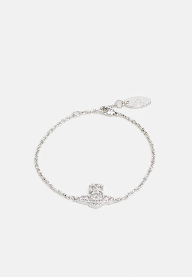 ROMINA PAVE ORB BRACELET - Armbånd - silver-coloured