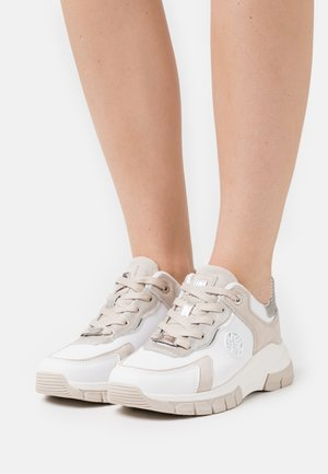 GERALDINE - Sneakersy niskie - beige/white