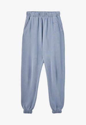 Tracksuit bottoms - mottled blue