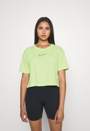 CROP TEE  - T-shirt basic - lemon twist