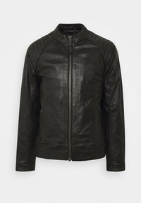 Schott - LCJULES - Leather jacket - black - 4