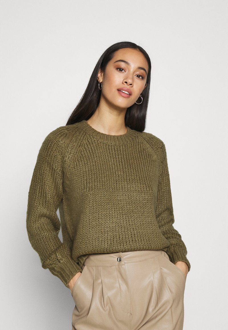 ONLY - ONLKATLA  - Jumper - covert green
