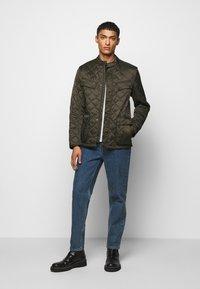 Barbour International - ARIEL QUIT - Light jacket - sage - 1