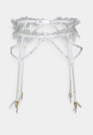 CHANTAL PLACEMENT CAGE SUSPENDER - Liguero - white