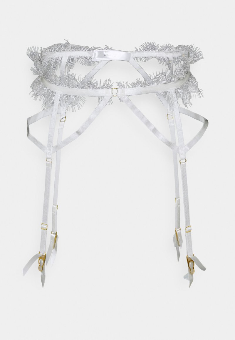 Wolf & Whistle - CHANTAL PLACEMENT CAGE SUSPENDER - Suspenders - white