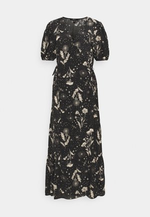 PRINTED DRESS - Maxi-jurk - black