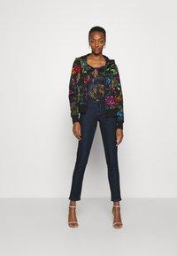 Versace Jeans Couture - Zip-up sweatshirt - black/multi - 5