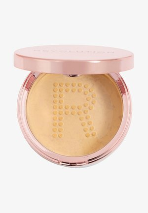 CONCEAL & FIX SETTING POWDER - Spray fixant & poudre - deep yellow