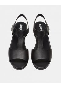 Camper - BALLOON - Wedge sandals - black - 1