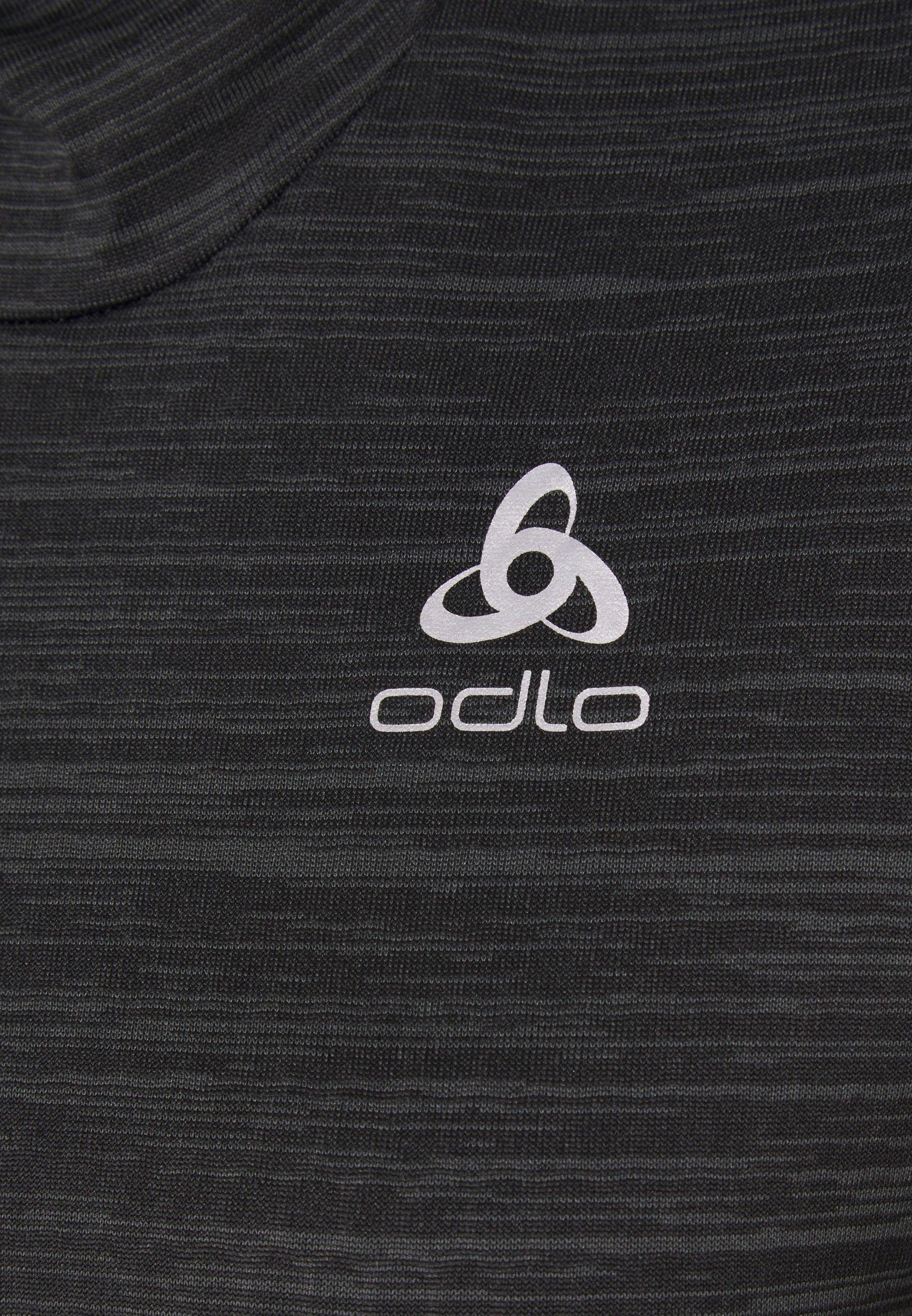 ODLO HOODY MIDLAYER MILLENNIUM ELEMENT - Long sleeved top - black ViGwA